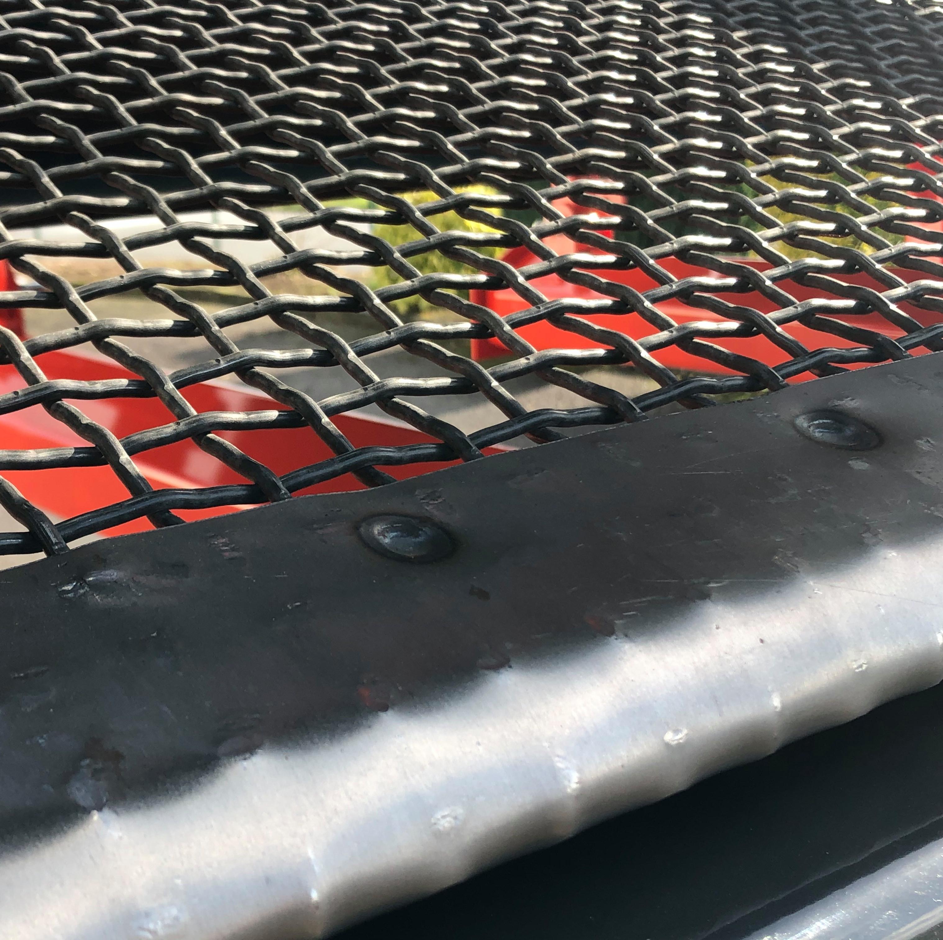 Grille de criblage pour tapis vibrant